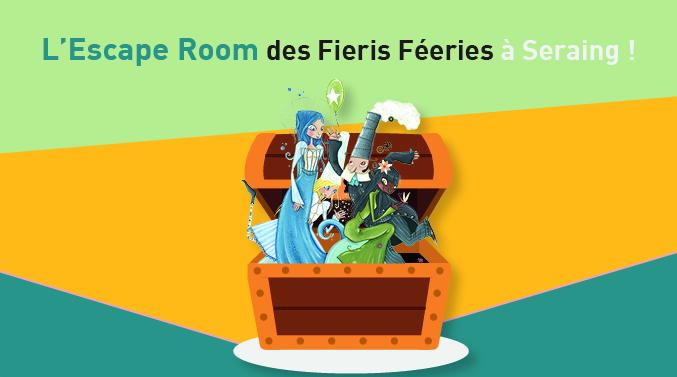 Agenda ► L'Escape Room des Fieris Féeries