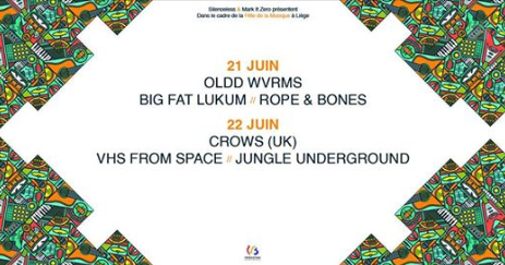 Agenda ► Crows (UK) // VHS From Space // Jungle Underground