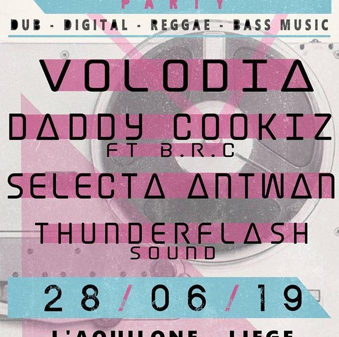 Agenda ► Daddy Cookiz / Volodia / Selecta Antwan