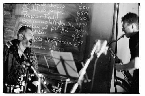 Agenda ► Jazz & More : Jeroen Van Herzeele/Giovanni Barcella