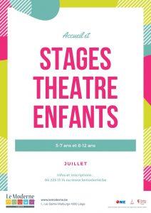 Agenda ► Stage de théâtre pour enfants