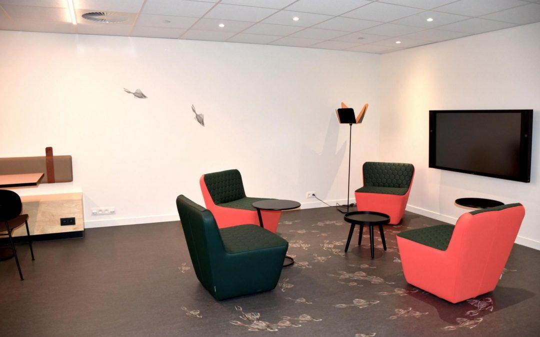 Il est ouvert, le nouvel espace de détente pour les étudiants université-Opéra