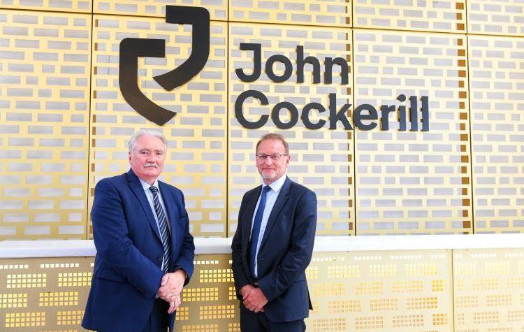 Seraing : le groupe CMI change de nom et devient John Cockerill