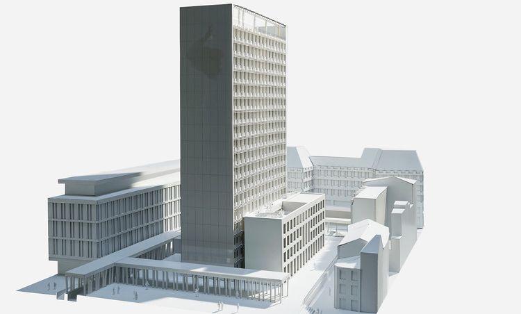 Voici à quoi ressemblera la nouvelle Cité administrative
