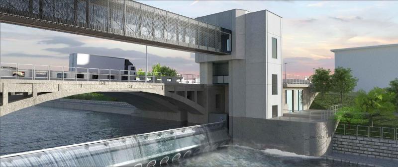 Barrage Monsin : les travaux avancent