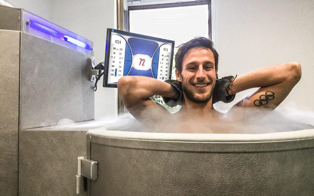 Nu dans un caisson à -170 degrés: la cryothérapie débarque à Liège