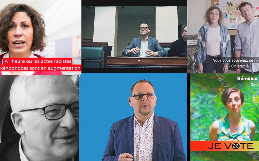 Les vidéos des candidat(es) liégeois(e)s aux élections