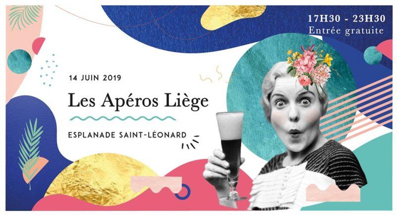 Agenda ► Les Apéros Liège // 14 juin // Esplanade Saint-Léonard