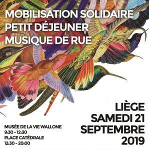 Agenda ► TempoColor – mobilisation solidaire & petit-déjeuner & musique de rue