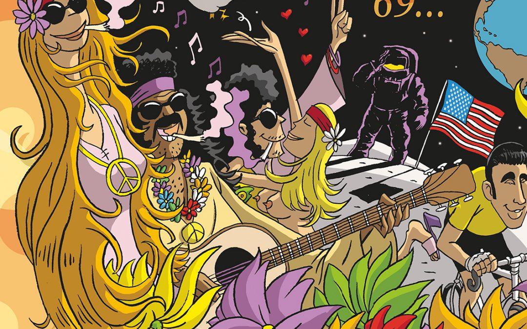 "Agenda ► Expo collective ""50 nuances de Woodstock"""