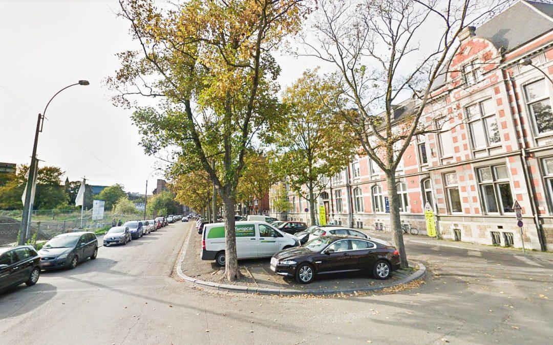 Bavière: suppression de places de parking et abattage d'arbres bd de la Constitution et rue des Bonnes Villes