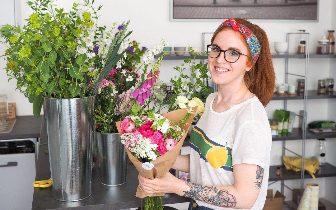Les bouquets colorés d'Elodie, première fleuriste éco-responsable de Liège