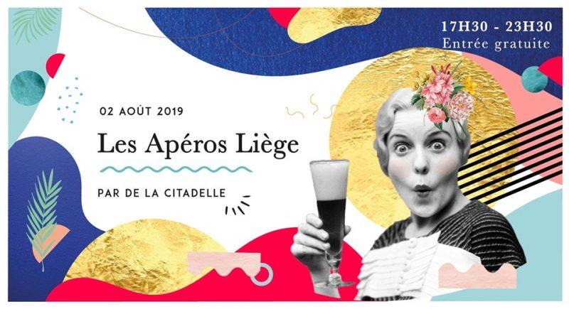 Agenda ► Les Apéros Liège // 2 août // Parc de la Citadelle
