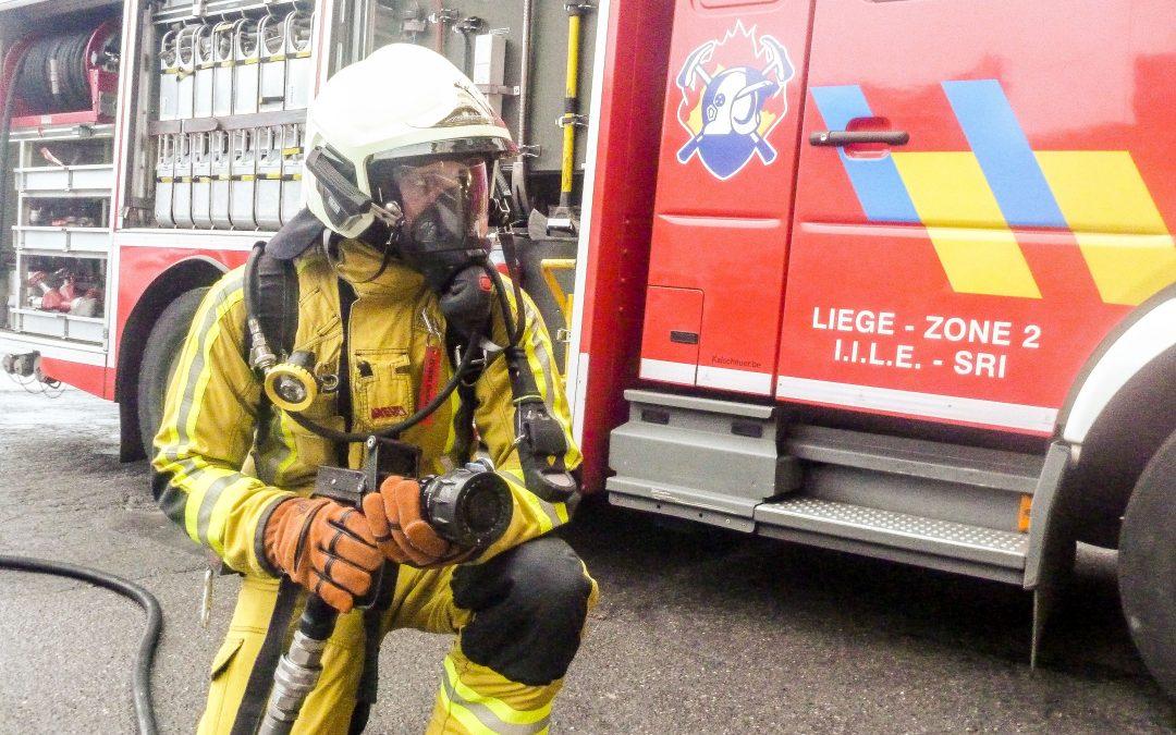 Les pompiers de la Cité ardente sont les plus rapides du pays