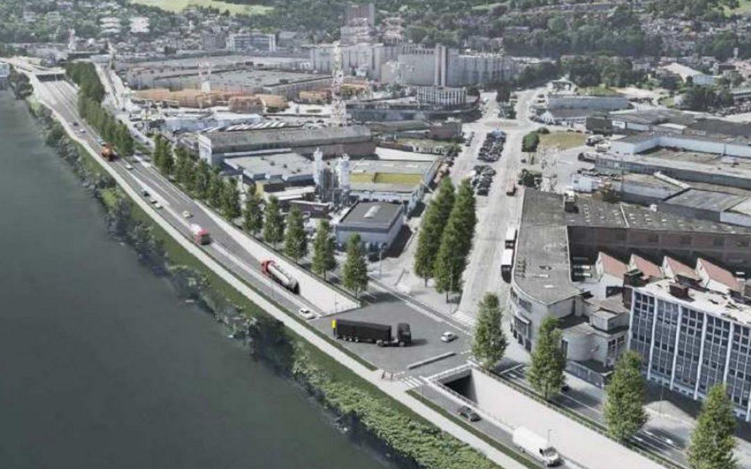 Le projet de nouvelle entrée de ville entre l'île Monsin et le pont Atlas manque de réflexion, selon Urbagora