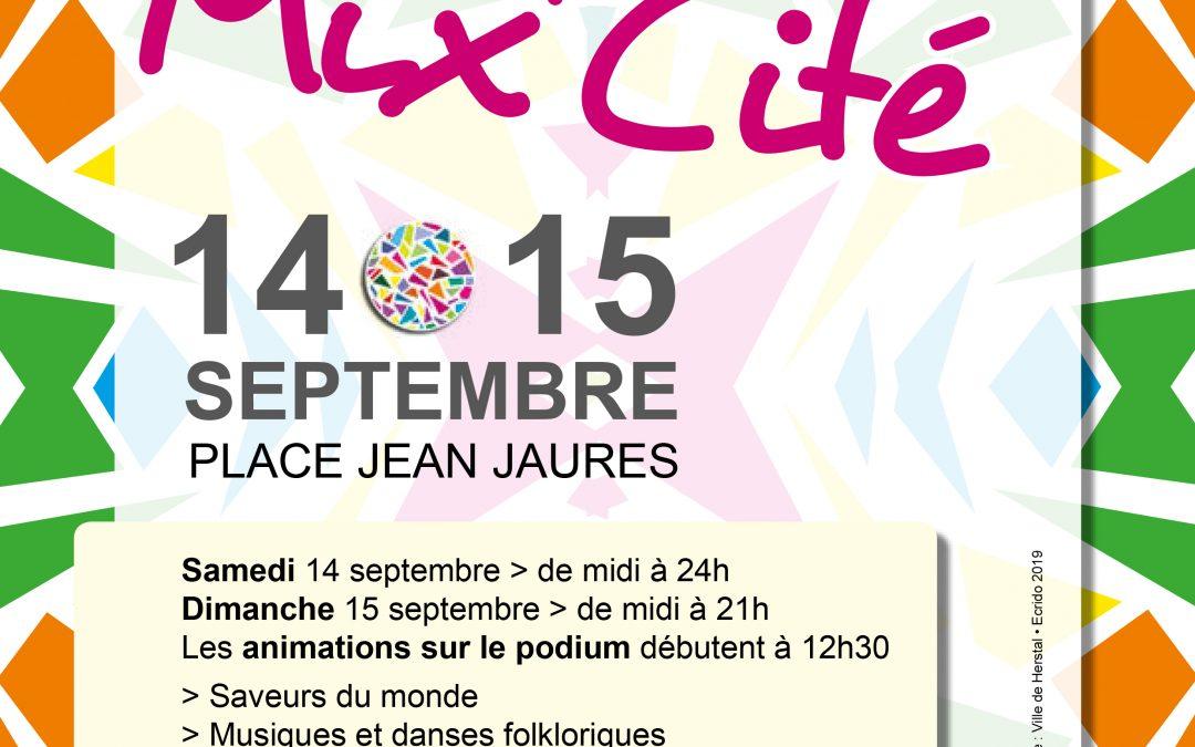 Agenda ► Herstal Mix'Cité 2019
