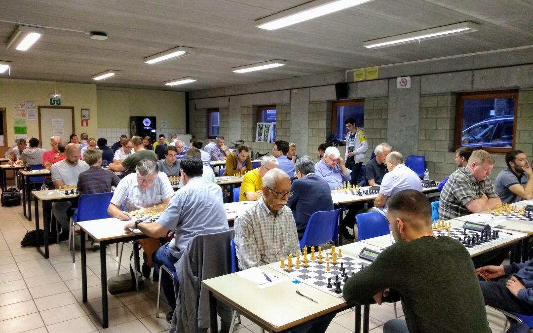 Beau succès pour le tournoi de la Vierge du club d'échecs de Liège