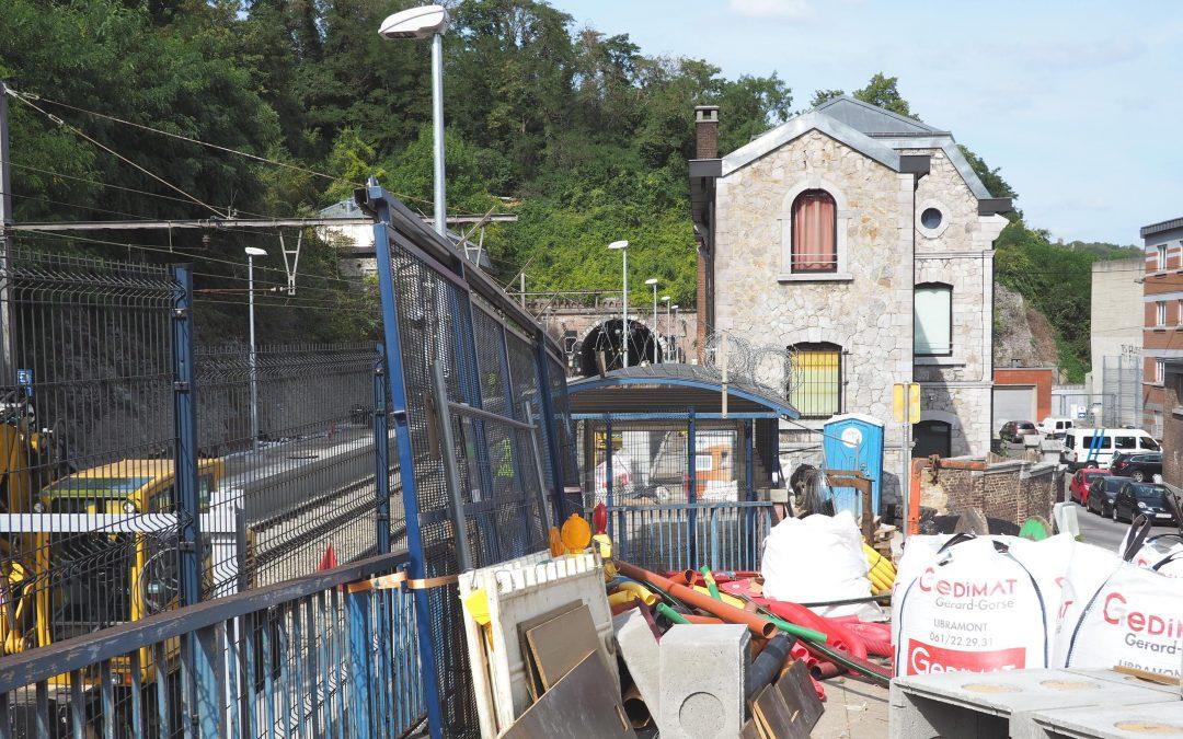 Les trains circuleront à nouveau entre Liège Guillemins, Carré et Saint-Lambert en septembre