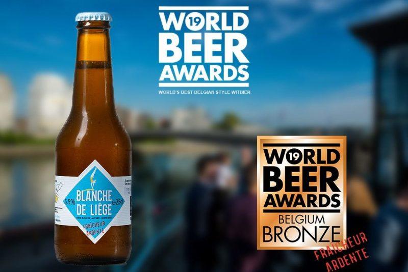 La Blanche de Liège, bière médaillée