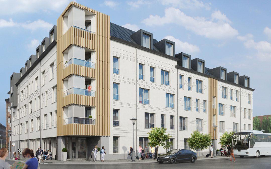 Un nouvel hôtel de 100 chambres en construction au centre de Liège