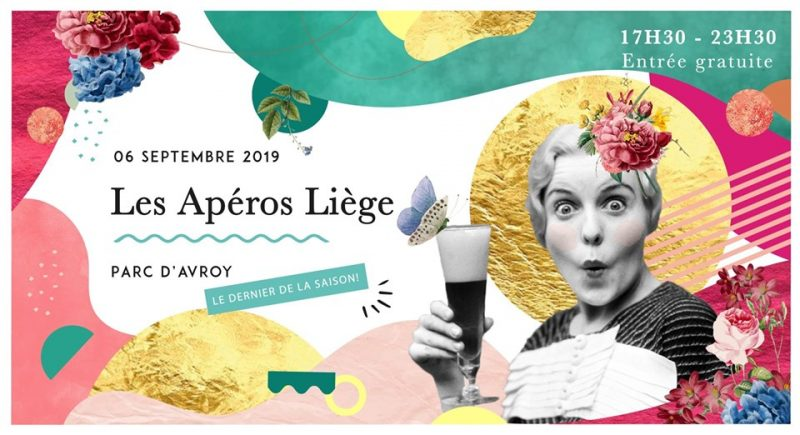 Agenda ► Les Apéros Liège // 6 septembre // Le dernier de la saison