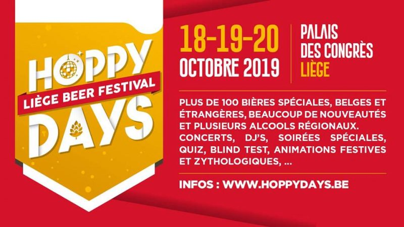 Agenda ► Hoppy Days – Liege International Beer Festival 2019