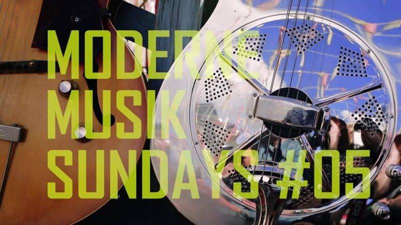 Agenda ► Moderne Musik Sundays 5 2019