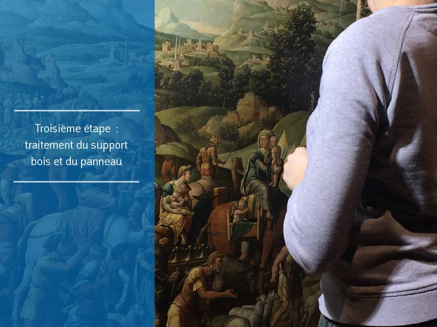 """Agenda ► Atelier ouvert : la restauration de """"L'Exode de Jacob"""" de Cornelis Buys"""