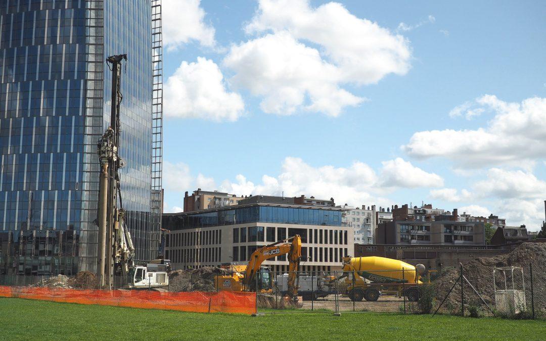 Le chantier des immeubles Paradis Express a démarré aux Guillemins