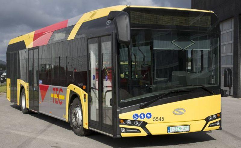 Bus hybrides Solaris à nouveau immobilisés au TEC … encore pour un problème de freinage