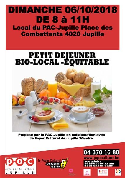 Agenda ► Petit déjeuner bio – local – équitable