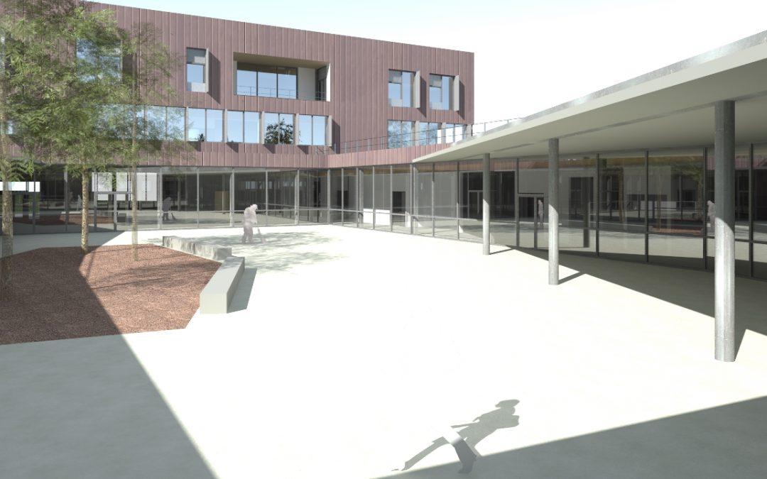 Un nouveau centre de 9,6 millions d'euros pour les enfants infirmes à Droixhe