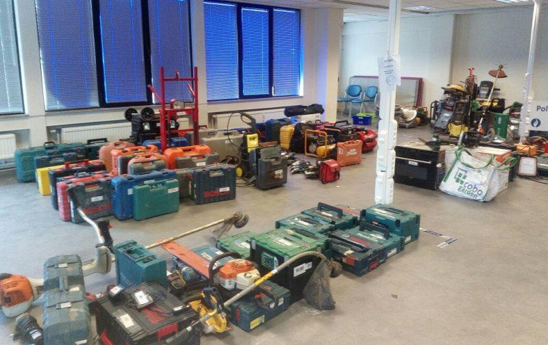La police recherche encore les propriétaires d'objets volés à Liège et retrouvés chez un receleur