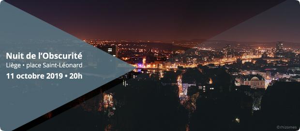 Agenda ► Nuit de l'Obscurité à Liège