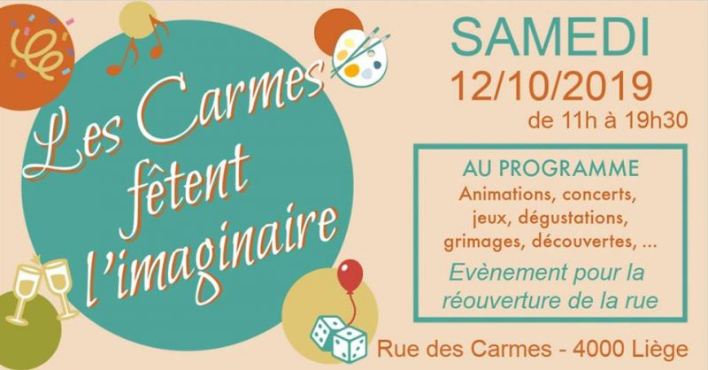 Agenda ► Les Carmes fêtent l'imaginaire !
