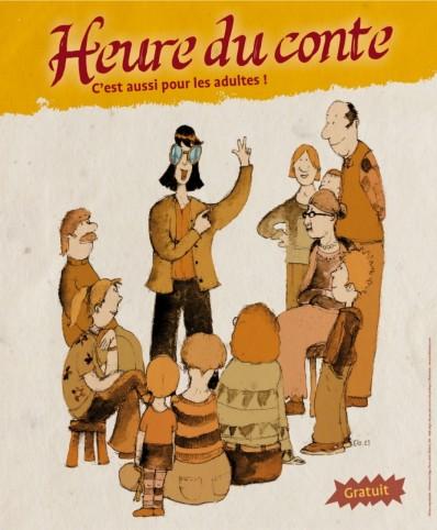 Agenda ► Les contes, c'est aussi pour les adultes!