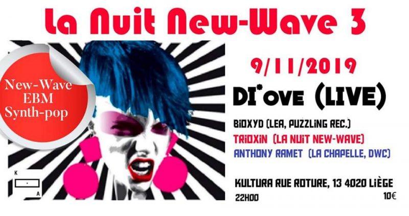 Agenda ► La Nuit New-Wave 3
