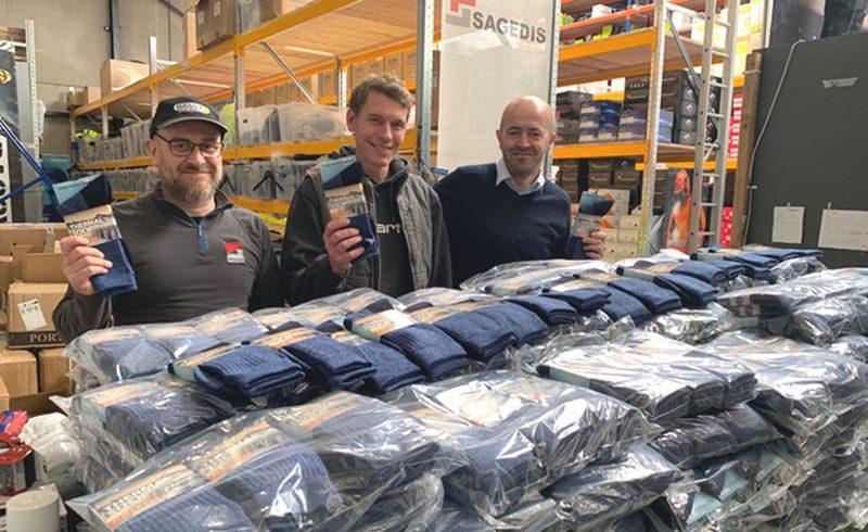 Opération 1000 kits de vêtements pour les sans-abris