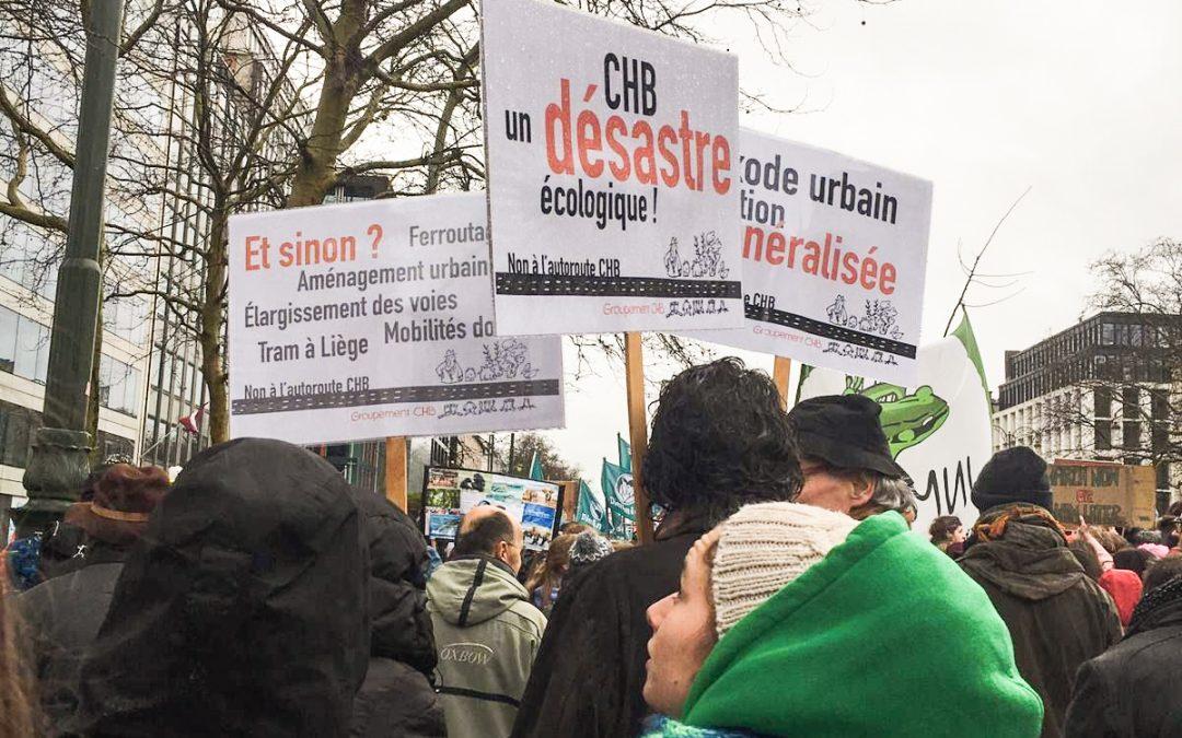 Les riverains au Conseil d'Etat contre  la liaison Cerexhe-Heuseux-Beaufays