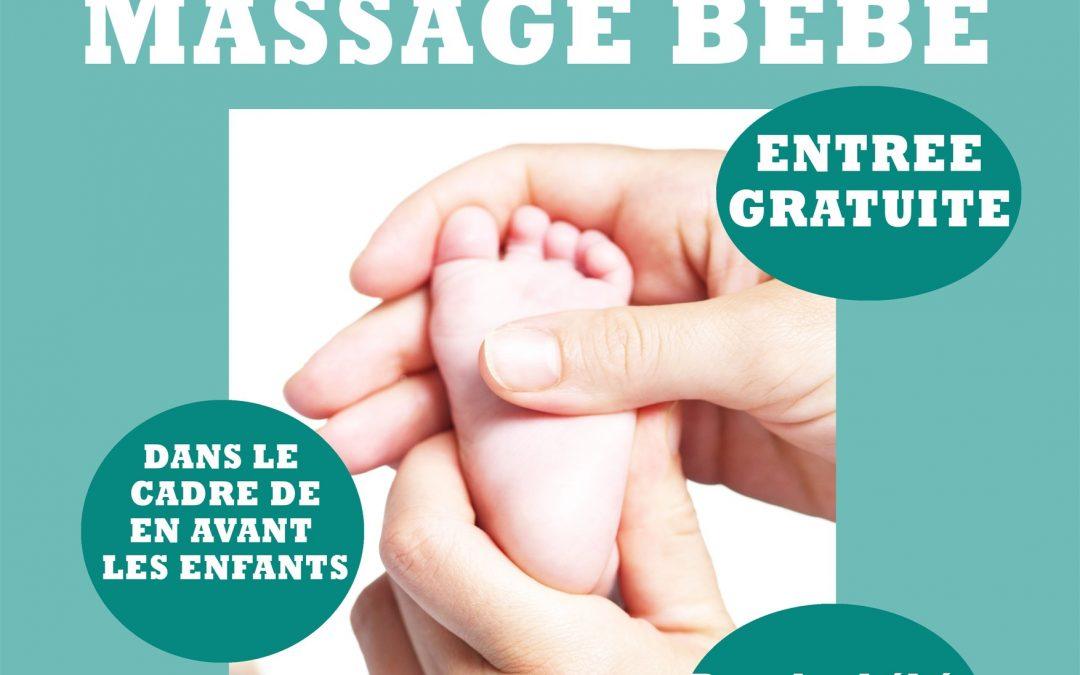 """Agenda ► Atelier """"massage bébé"""""""
