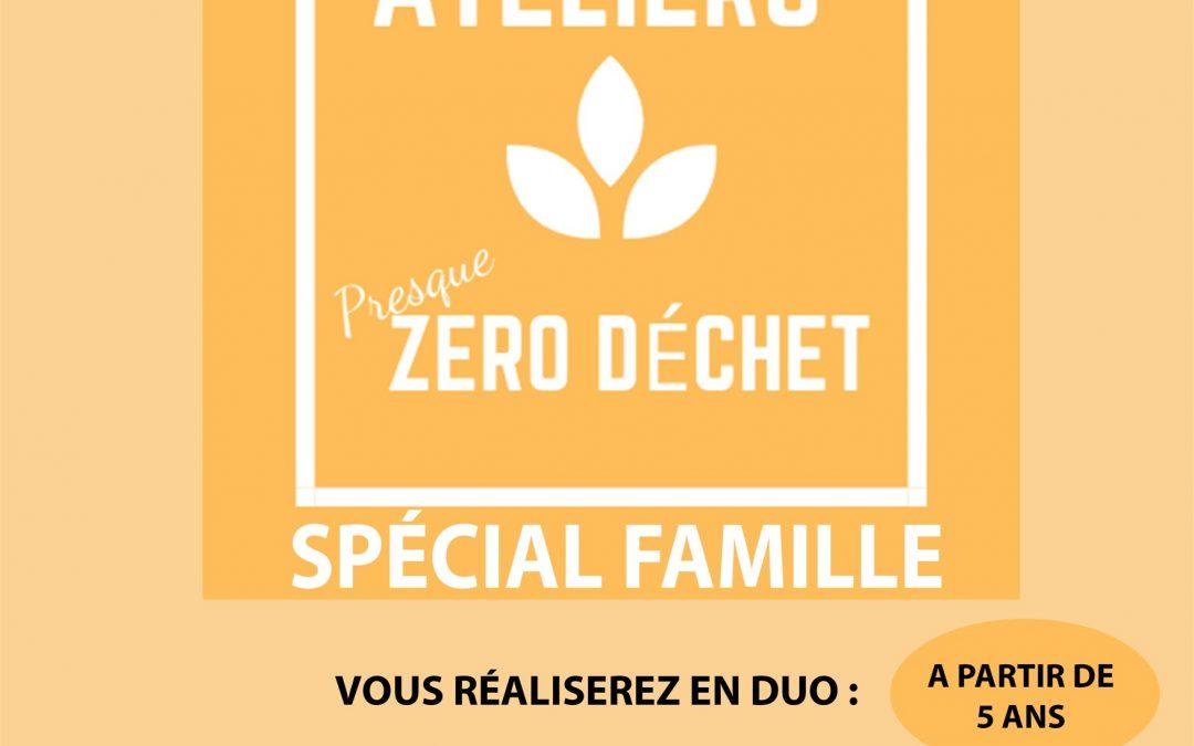 Agenda ► Atelier (presque) zéro déchet – Spécial famille