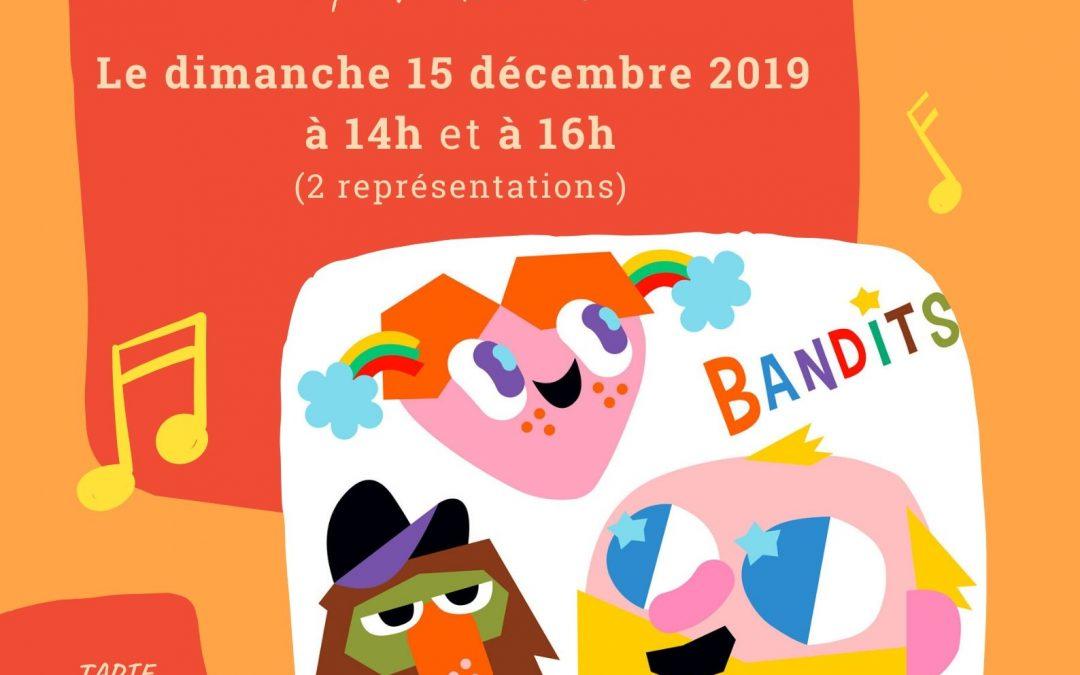 "Agenda ► Concert dès 3 ans – ""Bandits"""