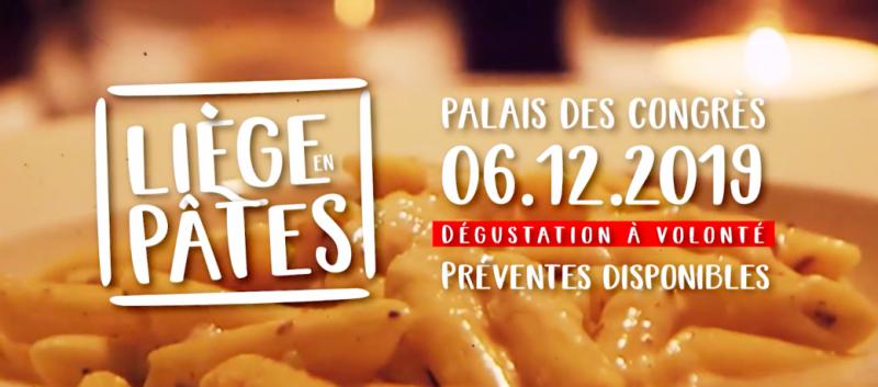 Agenda ► Liège en Pâtes