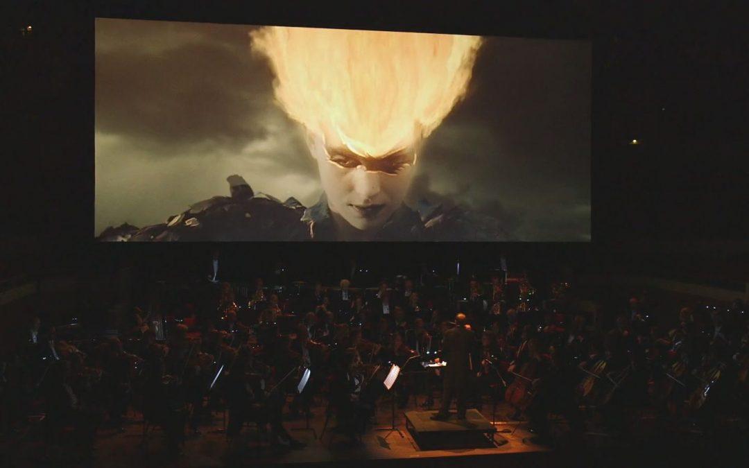 L'oiseau de feu: concert avec projection de film en interaction avec l'orchestre à l'OPRL