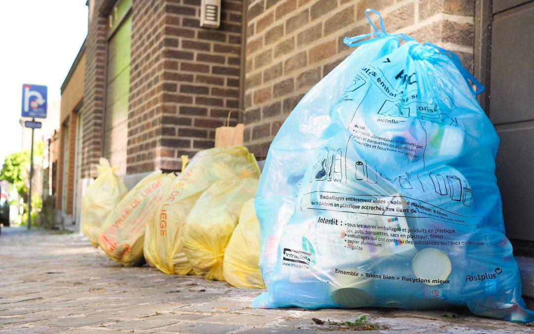 A partir de lundi vous pourrez mettre d'autres déchets dans vos sacs-poubelle PMC