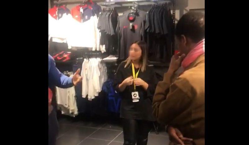 Sur une vidéo, les employés blacks d'une boutique de la Médiacité sont qualifiés de macaques