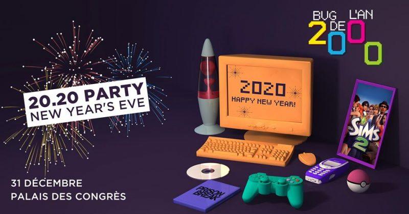Agenda ► Bug de l'An 2000 – Nouvel An – 20 . 20 PARTY