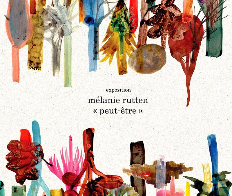 Agenda ► Exposition « Peut-être » de Mélanie Rutten