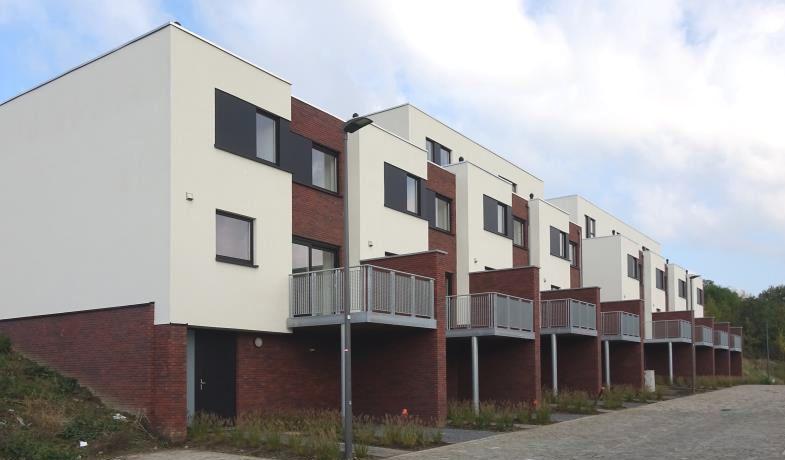 Nouvelles habitations sociales grand format dans le quartier Molinvaux
