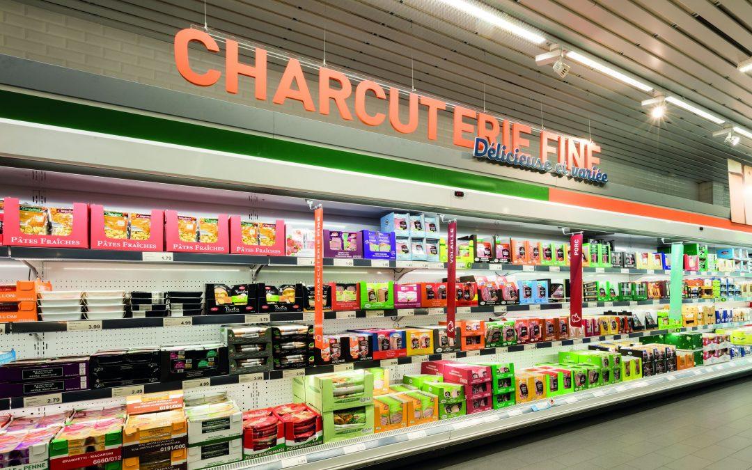 Réouverture du supermarché Aldi des Guillemins après agrandissement